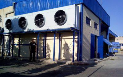 Instalación de cámaras frigoríficas en Glinwell Spain S.L.