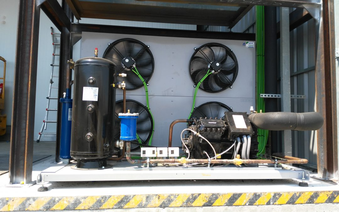 Instalación de cámara frigorífica en Ecosur