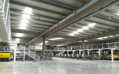 Instalación de refrigeración industrial en Hortofrutícola Mabe