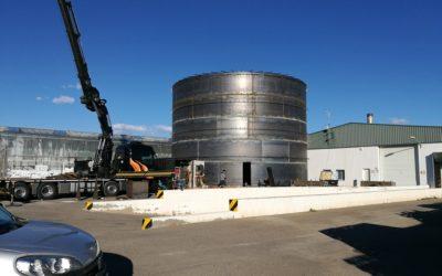 SDC ha realizado para Luis Andújar un sistema de acumulación térmica en uno de sus invernaderos.
