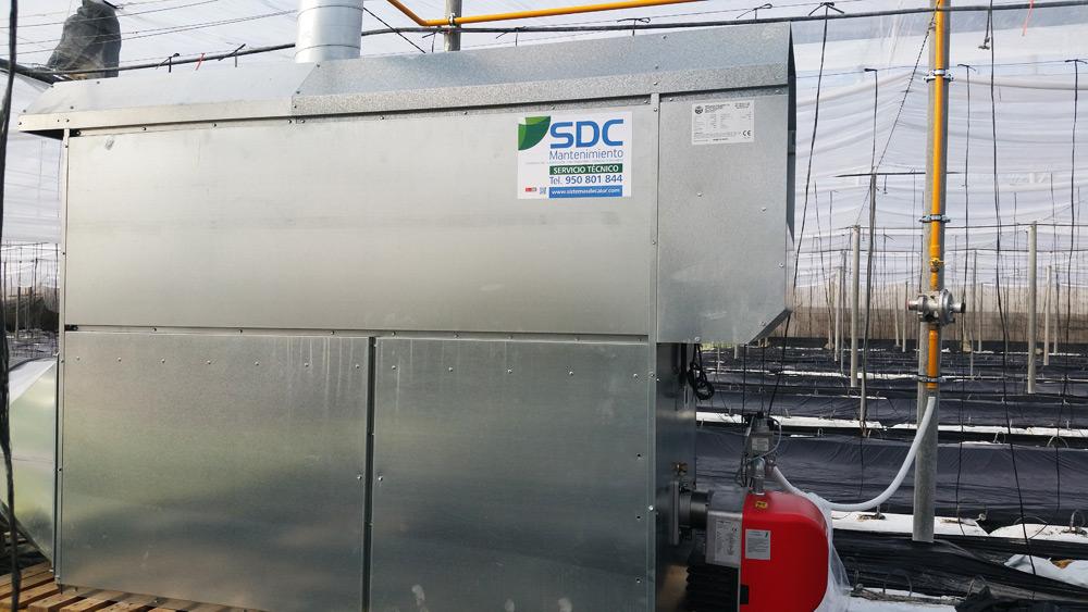 Calefacción de invernadero para Entinas Park