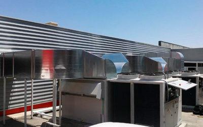 Climatización del centro logístico de la Hermandad Farmacéutica de Almería (HEFARAL)